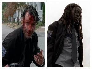 Rick The Walking Dead Michonne