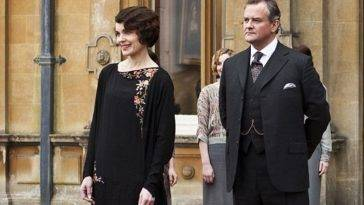 Downton Abbey: una scena