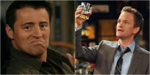 #VenerdìVintage- 10 grandi differenze tra Joey Tribbiani e Barney Stinson