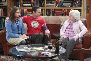 Gif -Recensione The Big Bang Theory, 9×14 : la nonna di Sheldon contro Amy?