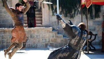 Oberyn Martell, Gregor Clegane