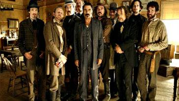 Il cast di Deadwood
