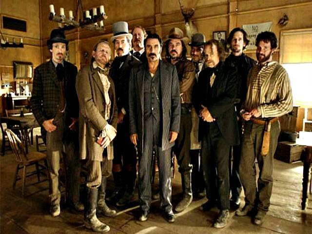 Il cast di Deadwood