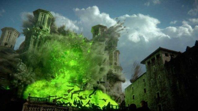 Game of Thrones esplosione tempio baelor