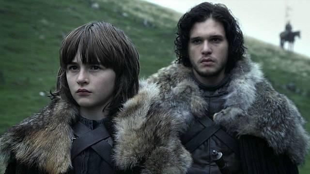Bran Stark e Jon Snow