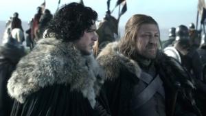 Lettera di Jon Snow a Ned Stark