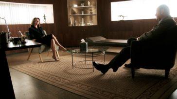 Tony Soprano e la dottoressa Melfi