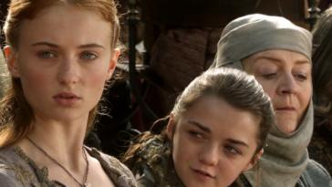 sansa stark aria Arya stark