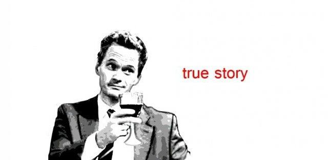 True Story Barney Stinson