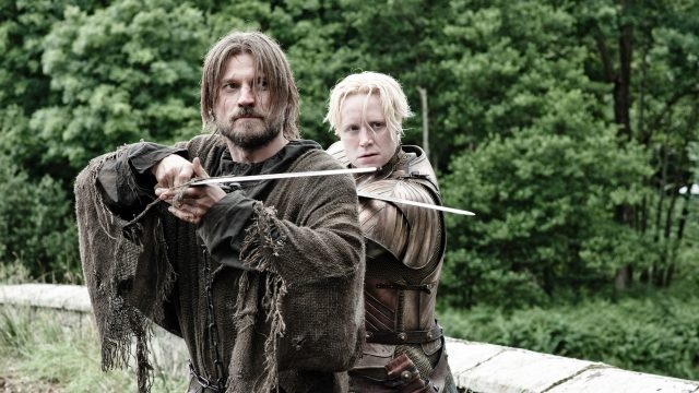 jaime lannister e brienne di tarth Game of thrones