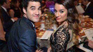 Lea Michele e Darren Criss