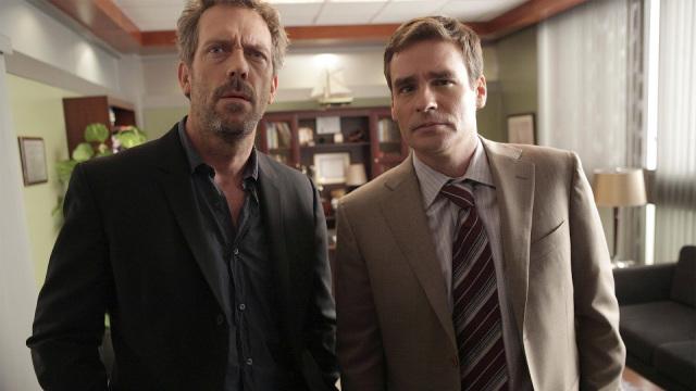 Dr House e Wilson.