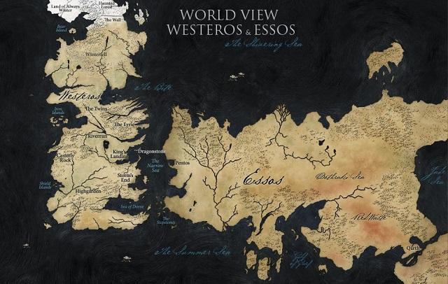 Cartina Westeros