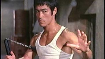bruce lee warrior