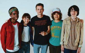 Rovazzi incontra i protagonisti di Stranger Things in uno spot pubblicitario