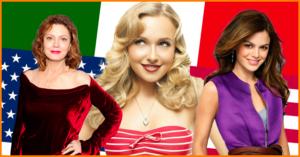 7 attrici delle Serie Tv che hanno origini italiane