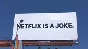"""""""Netflix is a joke"""" – L'azienda ha svelato il significato della misteriosa campagna pubblicitaria"""