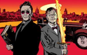 Good Omens – David Tennant e Michael Sheen nelle prime immagini dal set: eccole!