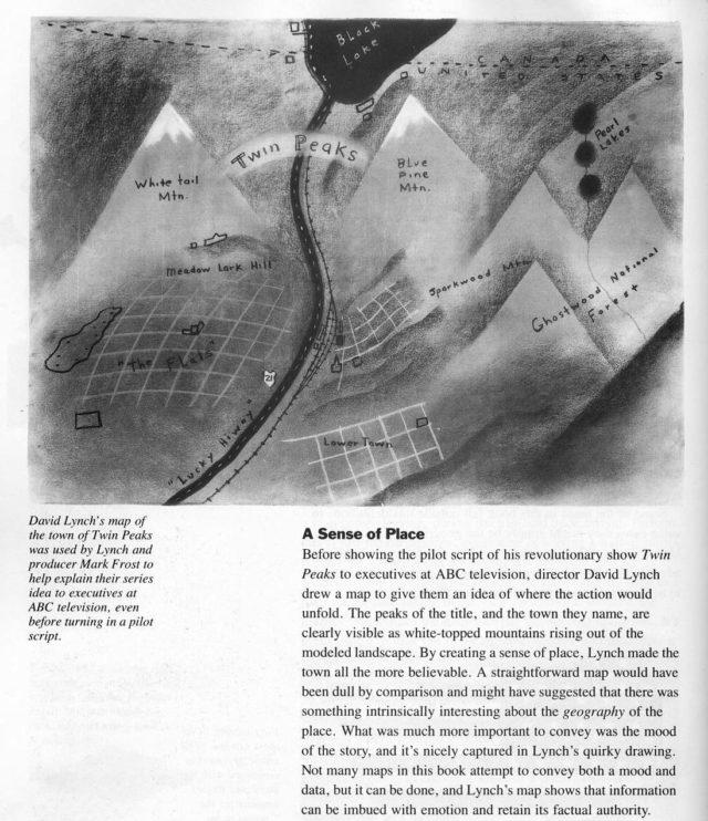 mappa twin peaks