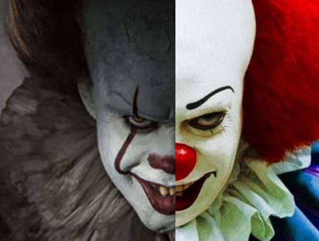 108282ea3fc6 IT - Due Pennywise a confronto  Tim Curry e Bill Skarsgård