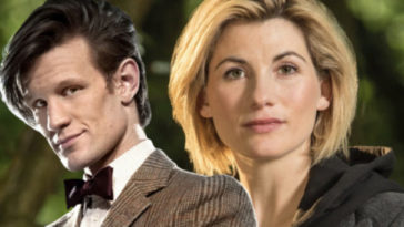 doctor who matt smith jodie whittaker