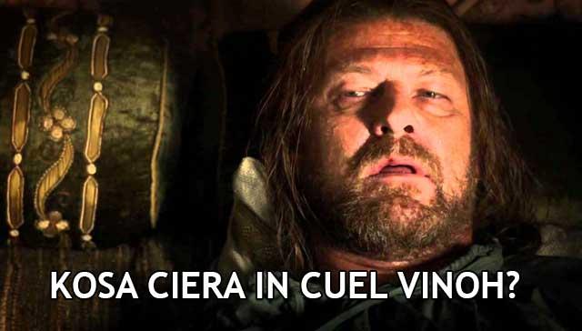 Ned Stark Hangover