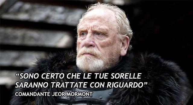 Citazione Jeor Mormont