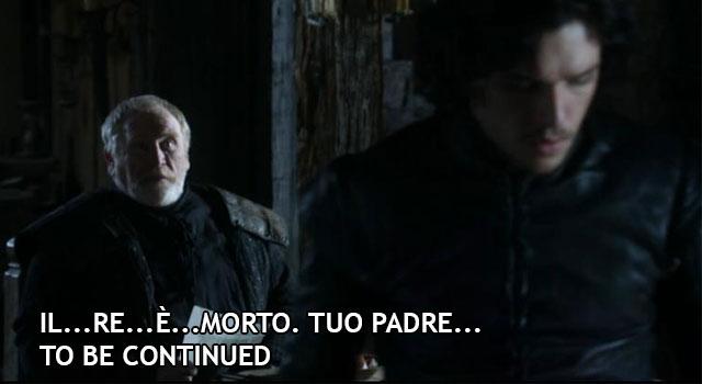 Jeor Mormont e Jon Snow