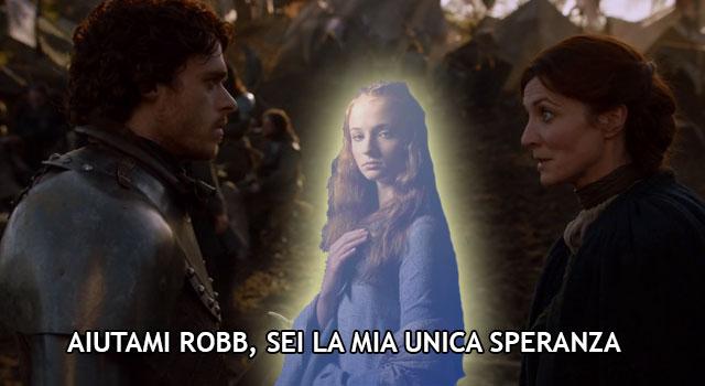 Messaggio Sansa Robb