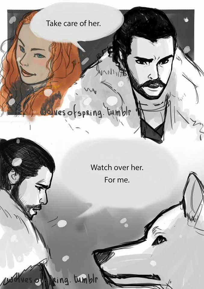 Game of Thrones 7 -La scena tagliata tra Jon e Spettro