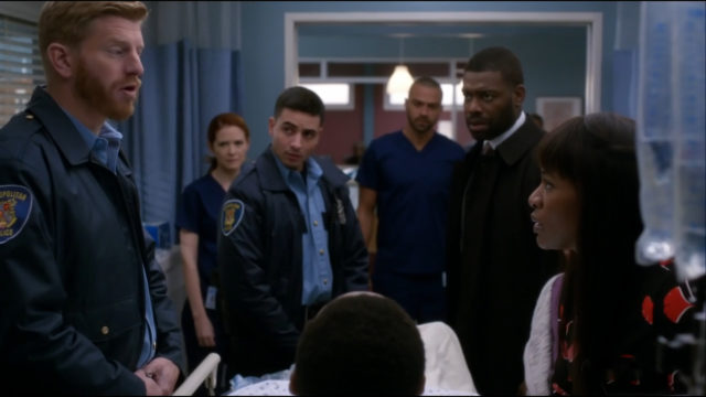 Grey's Anatomy - paziente