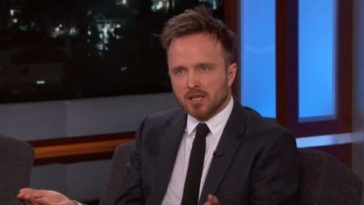 Aaron-Paul-Jimmy-Kimmel