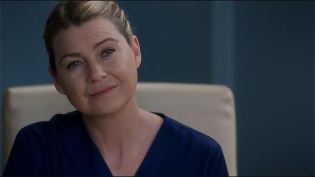 Ellen Pompeo è Meredith Grey in Grey's Anatomy