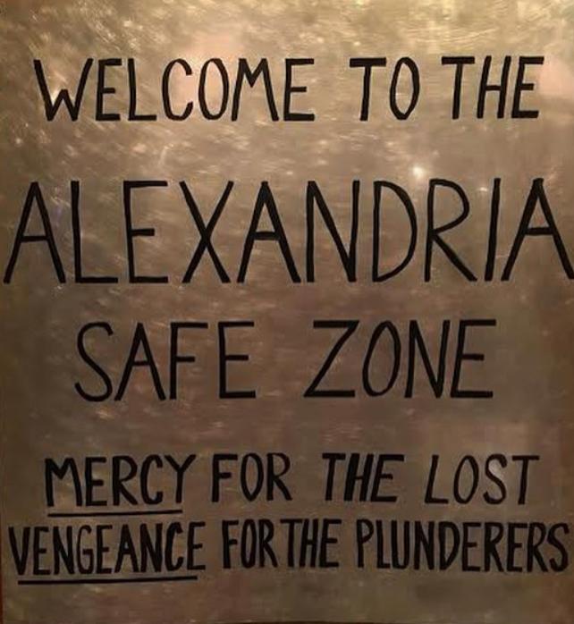 Risultati immagini per zona sicura alexandria