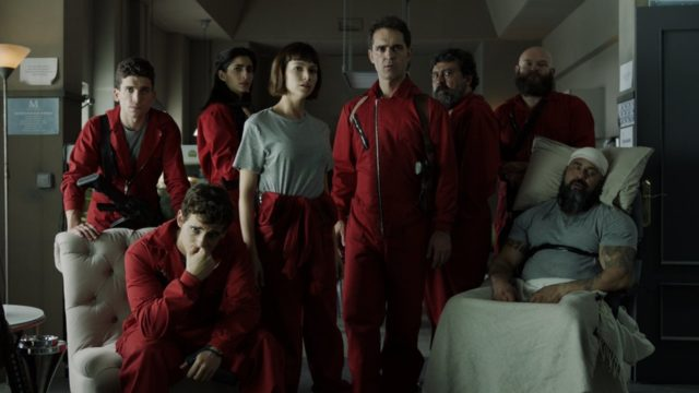la casa de papel 2x02 streaming