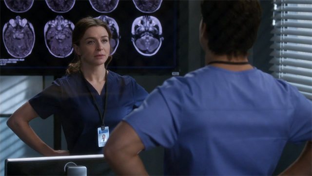 Grey's Anatomy 14x18 - Hold Back the River