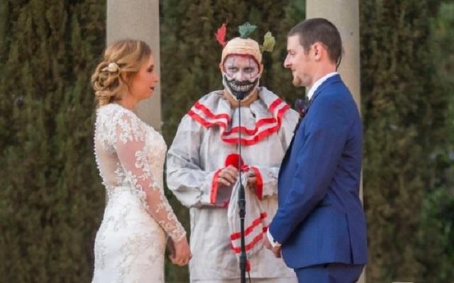Matrimonio Tema Horror : American horror story un matrimonio da paura celebrato