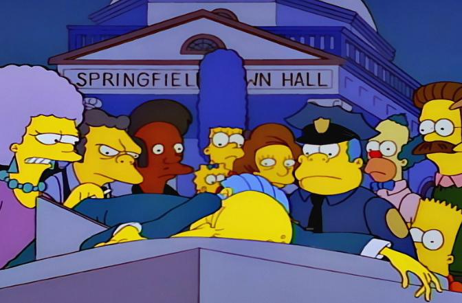 Simpson cartoon sesso foto
