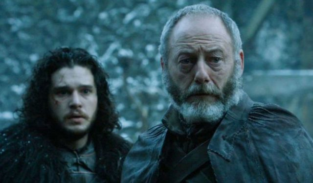game of thrones davos jon snow