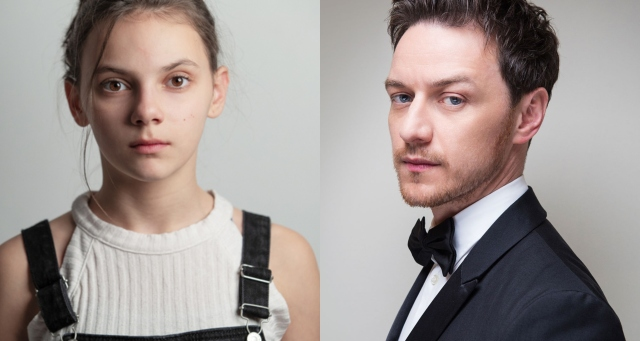 dafne keen james mcavoy queste oscure materie