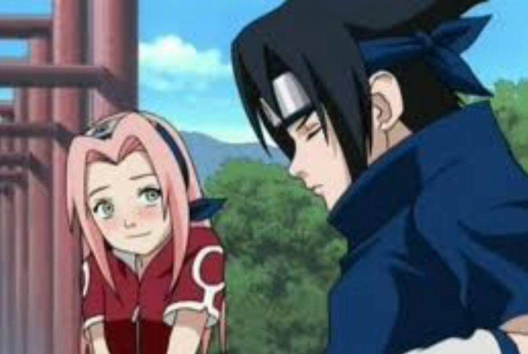 Naruto - Sasuke e Sakura