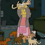 i Simpson - La gattara pazza