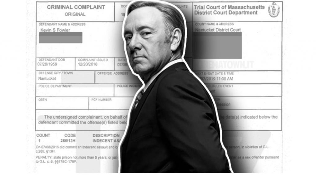 Kevin Spacey - Carte Processo