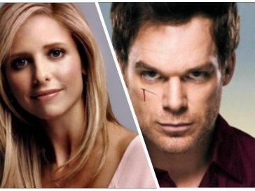 Superbowl - Michael C.Hall - Sarah Michell Gellar