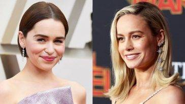 Game of Thrones Emilia Clarke e Brie Larson