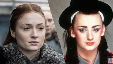 Game of Thrones - Sophie Turner - Boy George