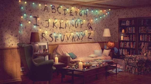 Stranger Things - salotto Ikea