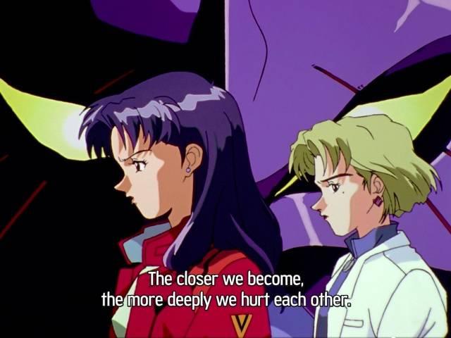 Neon-Genesis-Evangelion-Ritsuko-e-Misato