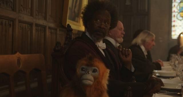 Queste Oscure Materie - daimon scimmiotto, preside