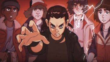 Stranger Things - versione anime anni '80